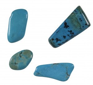 A Set of Lose Turquoise Stones