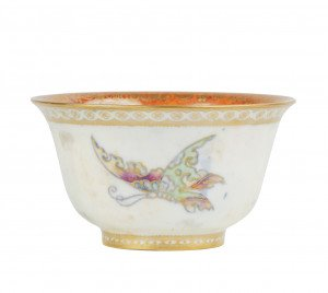 A Wedgwood Butterfly Lustre Porcelain Bowl