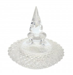 A Brilliant Period Cut Glass Style Vintage Scent Bottle