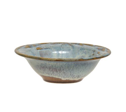 A Vintage Art Pottery Flambé Decorated Signed Studio Dish