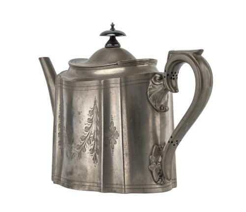 An Antique Victorian Era Walker & Hall Sheffield Teapot
