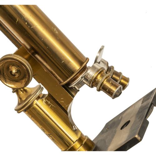 An Antique Spencer Lens Co. Buffalo NY Microscope & Case