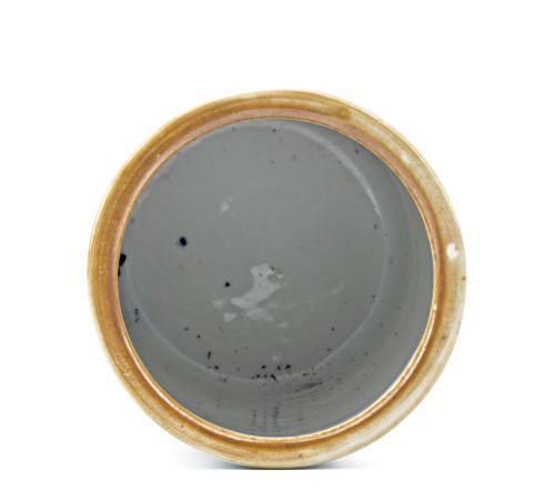 An Antique Chinese Porcelain Brush Pot Signed Yan Xiaoyun Shaoshan