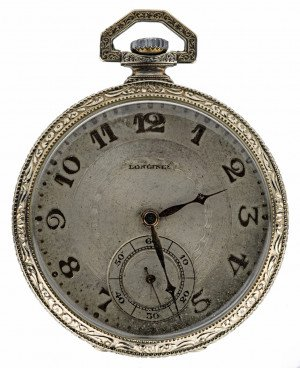A Vintage Longines 15 Jewel Pocket Watch
