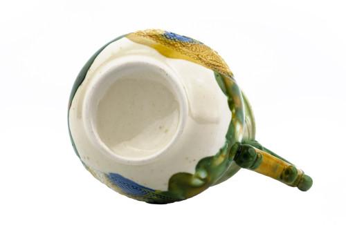 A Vintage Chinese Tang Dynasty Style Sancai Glaze Pitcher