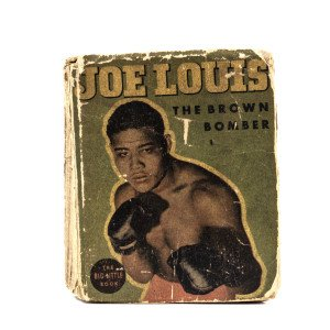A Vintage Copy Of Joe Louis The Brown Bomber The Big Little Book