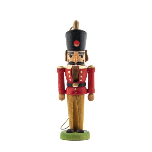 A Vintage Miniature German Nutcracker Christmas Ornament