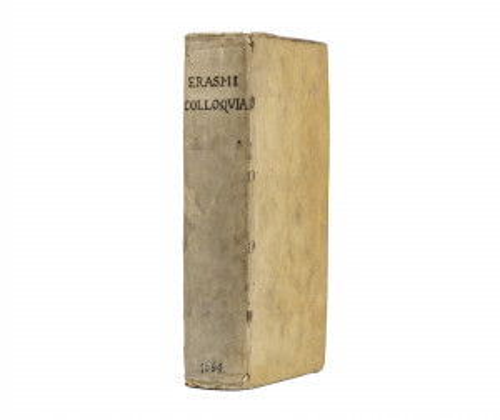 Desiderius Erasmus Erasmi Colloqvia 1664