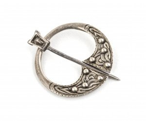 Brooch Pin Sterling Silver English Arts & Crafts Period 1