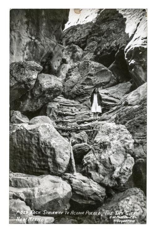 Pueblo Acoma Photograph Postcard 1
