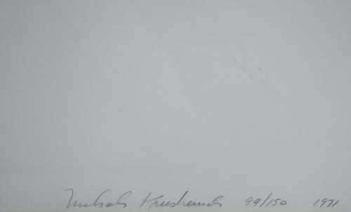 Nicholas Krushenick Fire/Flash/Five/Fade (2) 1971 Signed Screen Print