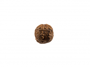 An Antique Boxwood Carved Japanese Ojime Bead