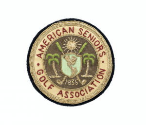 A Vintage 1935 Golf Association American Seniors Badge