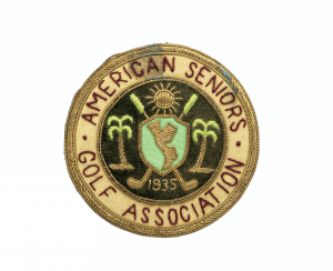 A 1935 Vintage Golf Association American Seniors Badge