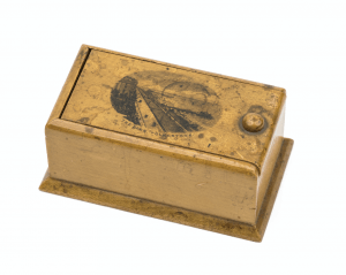 The Lees Folkstone Antique English Wooden Slot Door Box