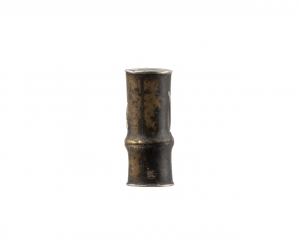 An Antique Bronze Gilt Decorated Japanese Signed Ojime Bead