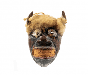 An Antique Diminutive Buffalo Mask