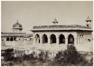 An Antique Albumen Print Photograph Of Agra India By Shepard & Robertson