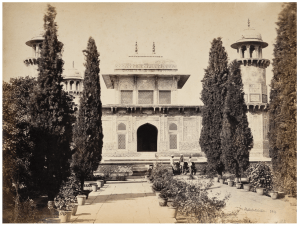 An Antique Albumen Print Photograph Of An Indian Mausoleum By Shepard & Robertson