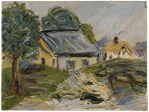 A Vintage Impressionist Landscape Oil Painting