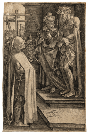 An Etching Of Christ By Albrect Durer 1512