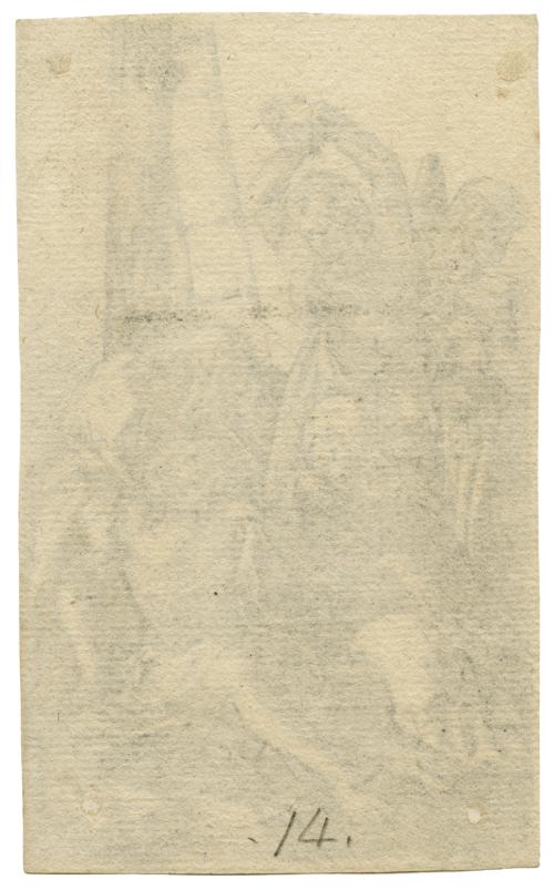 A Copper Engraving By Albrect Durer Lamentation Over Christ