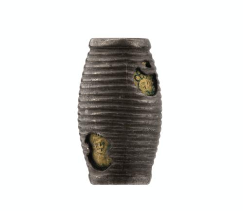 A 19th Century Meiji Period  Mixed Metal Japanese Ojime Bead
