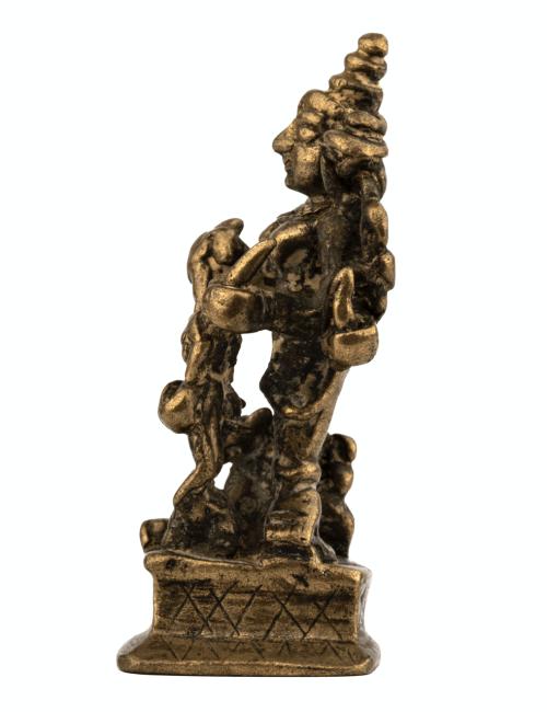 A 17th-18th Century Indian Copper Alloy Durga Shrine