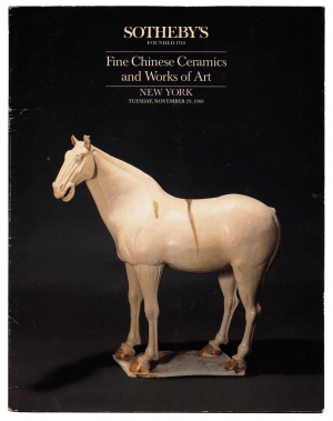 Sotheby's Fine Chinese Ceramics & Works Of Art NY November 1988 Auction Catalog