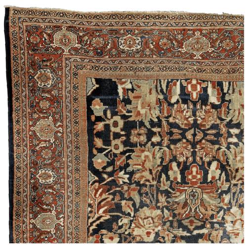 An Antique Ziegler Mahal 10.4 x 8.6 Persian Carpet