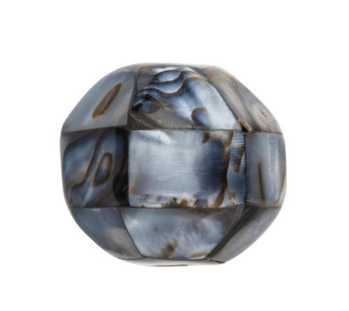 A Shell Veneered Antique Japanese Ojime Bead