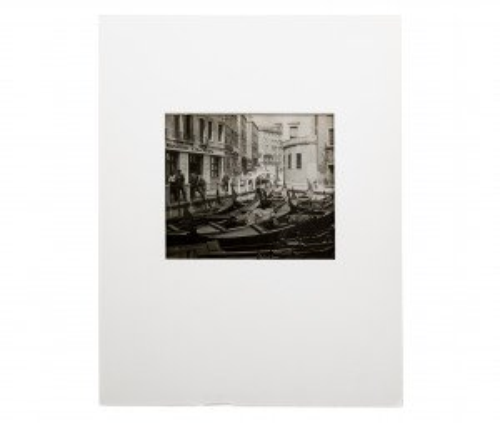 Vintage Photograph Venice Grand Canal