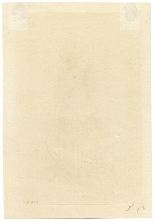 "A 19th Century French Etching Alfred Cadart ""Marocain"""