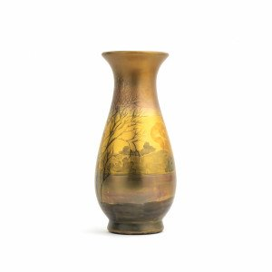 American Art Pottery Vase By Weller LaSa Line 10""