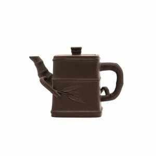 Chinese Yixing  Bamboo Form Teapot