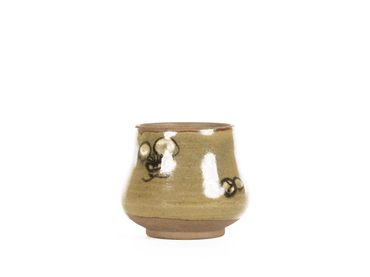 A Vintage Studio Pottery Signed Japanese Nippon Miniature Vase