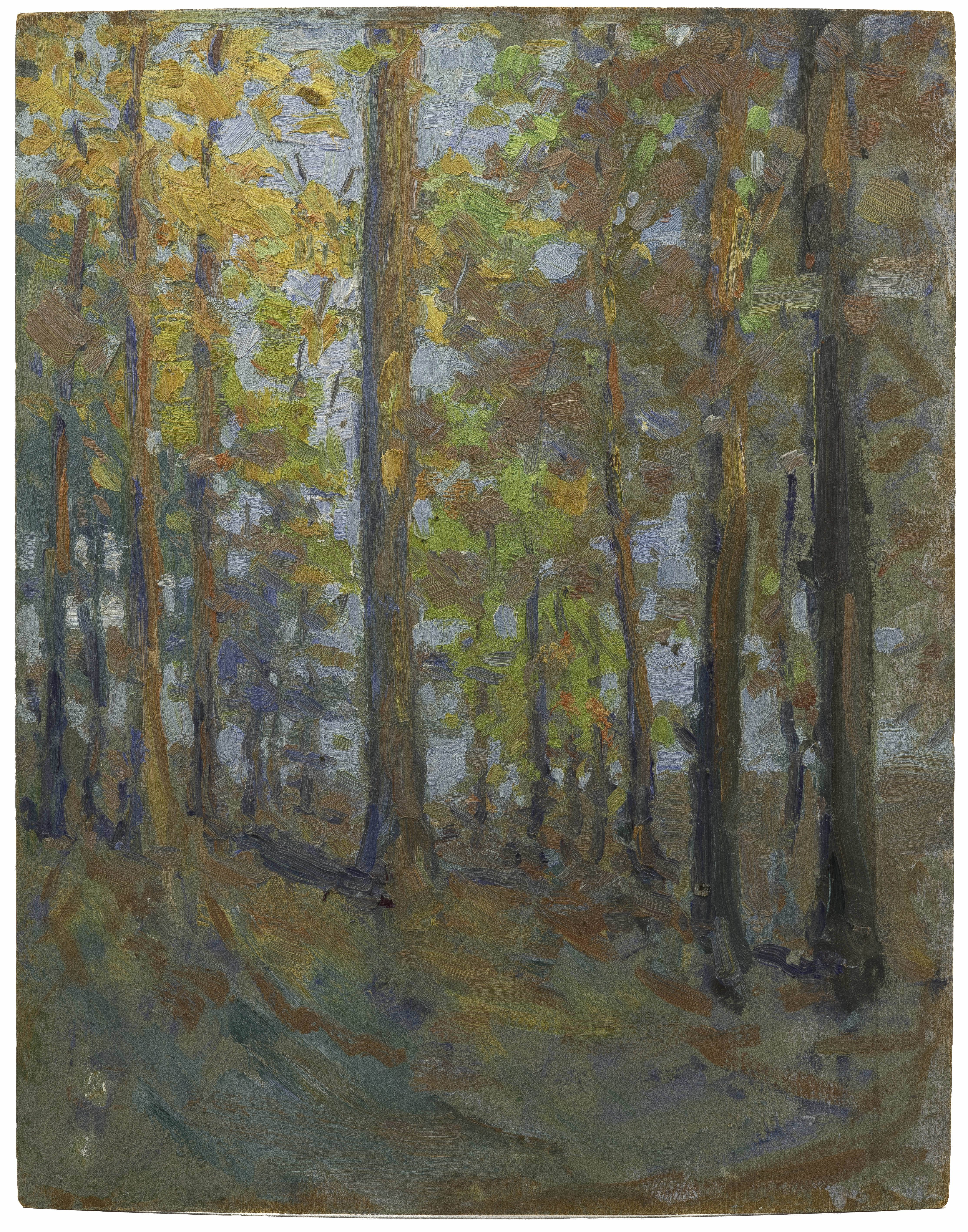 A Landscape Oil On Board Painting By John Manchester